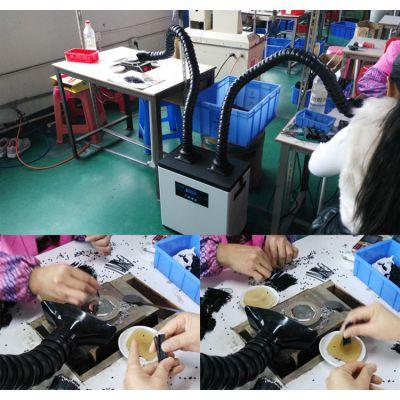 线路板焊锡抽烟机