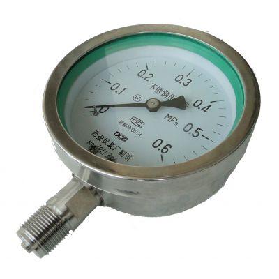 全不锈钢压力表YTF-150 -100/不锈钢压力表-西安仪表厂