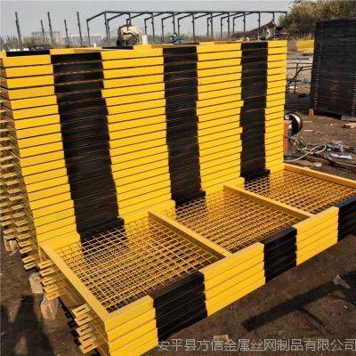 厂家供应现货1.2*2米基坑临边防护栏 定型化安全防护栏 基坑护栏