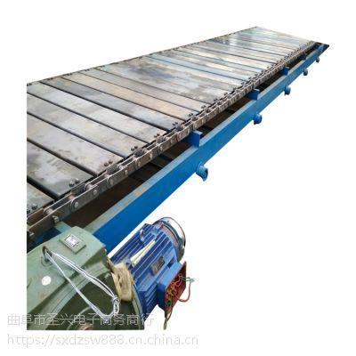 链板爬坡线环保 耐高温链板输送机型号厂家直销