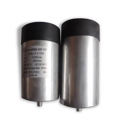 赛福光伏风电圆柱直流滤波电容器