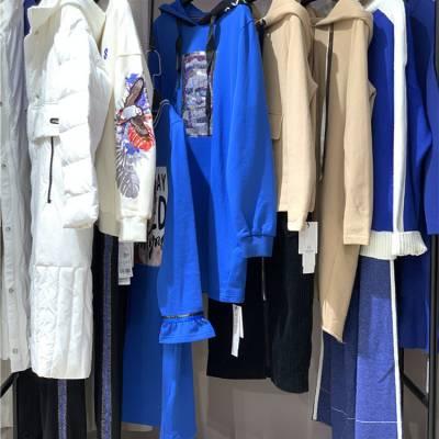 时尚潮牌天使韩城女装折扣尾货批发市场