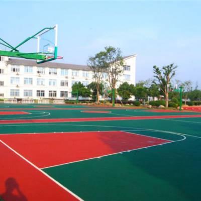 塑胶球场地面多少钱一平方-益阳塑胶球场地面-辉跃健身器材定制