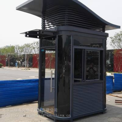 盛辉嘉业厂家直销钢结构喷漆岗亭碳钢岗亭艺术岗亭不锈钢岗亭