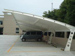 膜结构车棚厂家-创锦帆装饰膜结构-杭州车棚