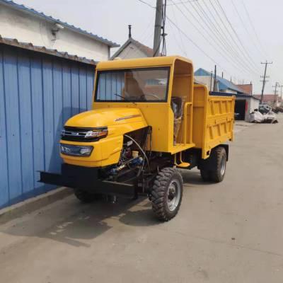 四不像矿用运渣自卸车 高频率柴油运输拖拉机 多缸电启动翻斗四不像