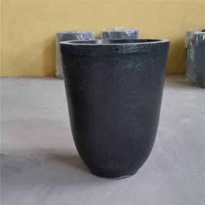 河北中冀金钢苏州1100kg熔银坩埚1100#密度大碳化硅优质高纯石墨坩埚电磁炉