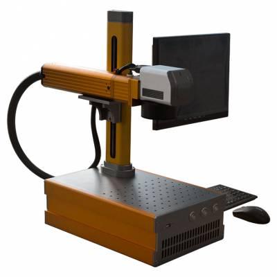 大鹏激光小型打标机 桌面便携式MINI光纤激光打标机