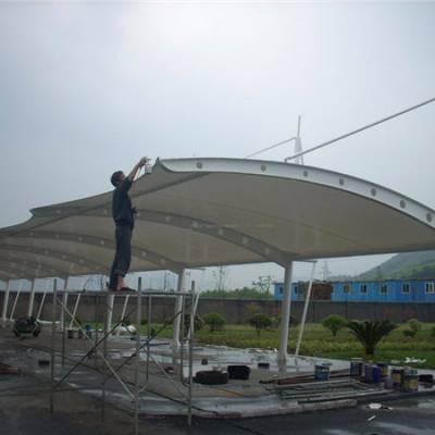 膜结构 停车棚--山东天北金属制品有限公司