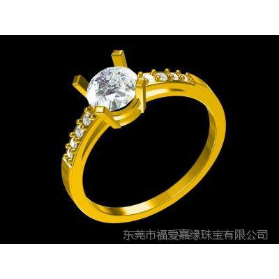 黑金镶嵌红水晶订婚戒指企业定制 英国 金戒指 款式—纯银首饰定