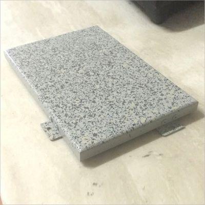 供应上海街道房屋改造热转印仿石纹铝单板真石漆铝单板