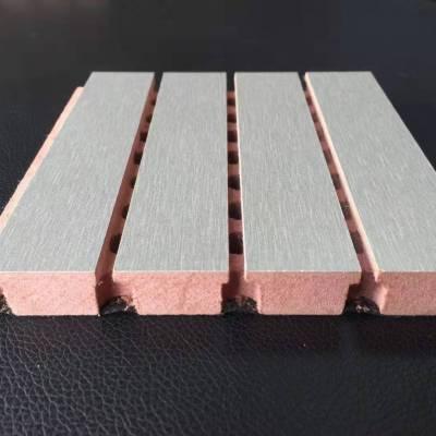 A级阻燃吸音板 专业定制体育馆室内防火木质吸音板