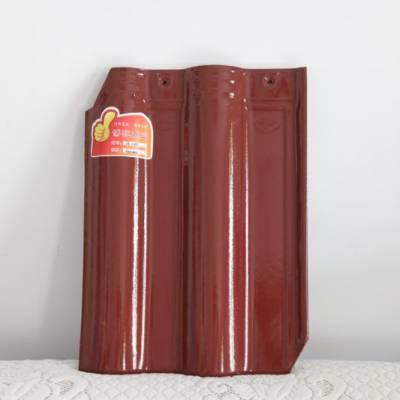 陶瓷工程波形瓦 工程釉面瓦 淄博大红瓦 连锁瓦图片