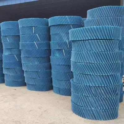 圆形斜交错填料多钱一吨_PVC/PP冷却塔填料_ 河北恒冷