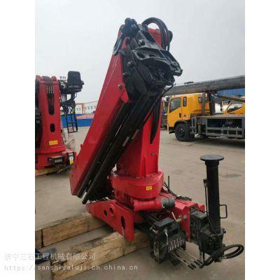 15吨折臂吊机 工作半径13.2米360度旋转 山东济宁三石价格咨询