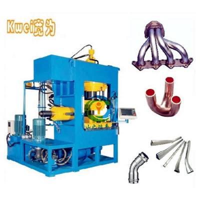 热销水涨液压机 排气管内高压成型机 小型油管快速成型水涨机