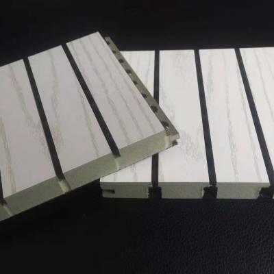 专业生产电影院墙面优质防火防潮木质吸音板