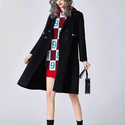 厂家直销时尚品牌折扣女装货源批发外贸女装尾货多种分格多种面料清仓甩货包
