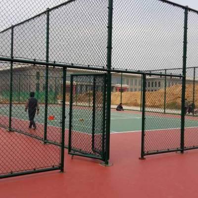 红河县围网篮球场-学校球场护栏厂家-学校篮球场铁丝围栏网