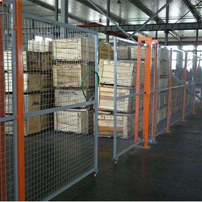 厂家供应车间隔离网 定做框架护栏网 车间设备隔离防护网