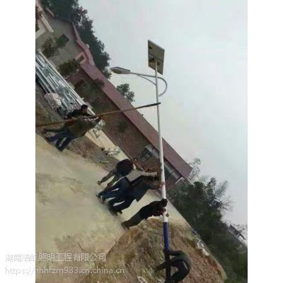 韶山市太阳能路灯 灯杆参数是***的
