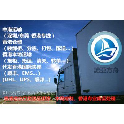 供应国内敏感货出口香港(快递)货运专线