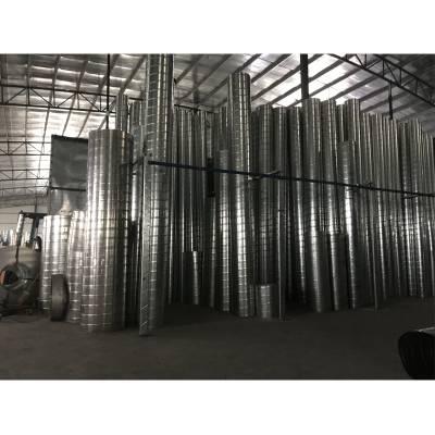 供应镀锌螺旋风管,不锈钢螺旋风管,白铁皮风管,江门螺旋风管厂家