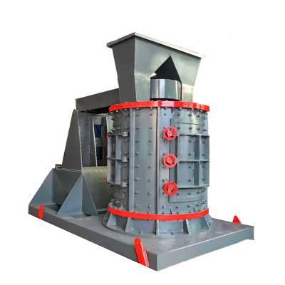 立轴板锤制砂机 环保制砂机原理 河卵石制砂机价格