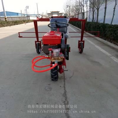 厂家供应柴油三轮打药机 多喷头三轮喷药机 高杆杀虫药机生产商