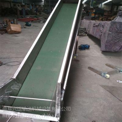 平板铝型材水平输送机 各种带宽运输机定制