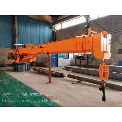 品牌船吊厂家地址 济宁三石工程机械可按照客户具体要求进行船吊改装