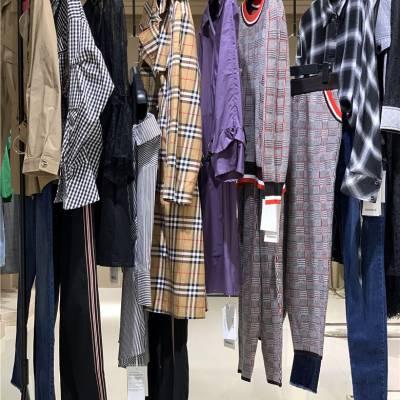热门品牌吉丘古儿尾货女装品牌女装折扣批发市场