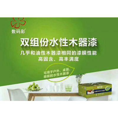 水性环保木器漆由黑龙江数码彩涂料厂家供应