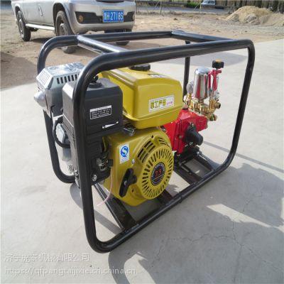 出水量大远射程打药机 高压喷雾器连接药管方法简单