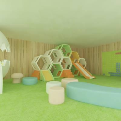 新型个性创意儿童乐园定制游乐设备 飞翔家 厂家直销