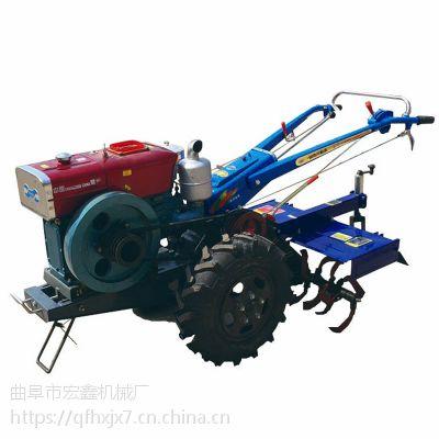 小型打田犁地机 小型柴油手扶拖拉机 多功能开沟旋耕起垄机