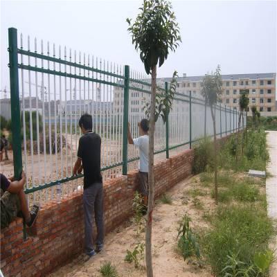 栏杆式外墙围栏 组装式墙体栅栏 小区围墙护栏