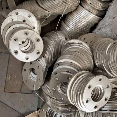 山东厂家对外承接激光加工 不锈钢法兰切割 金属钣金来图加工