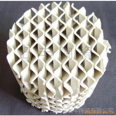 五丰陶瓷生产陶瓷波纹填料