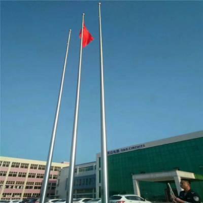 泰州耀荣 小区不锈钢升旗杆加工定制厂家供应