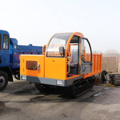 岳阳全地形履带运输车 雪地拉沙石链轨车价格 履带式拖拉机图片