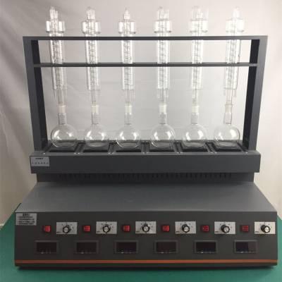 海南氨氮蒸馏器CYZL-6C一体化万用蒸馏仪