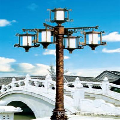 LED一体化太阳能庭院灯LED庭院壁灯太阳能一体式欧式路灯厂家直销