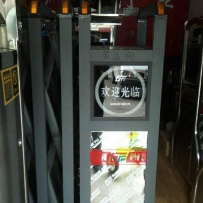 自动不锈钢伸缩门安装-广福电动伸缩门-商丘自动不锈钢伸缩门