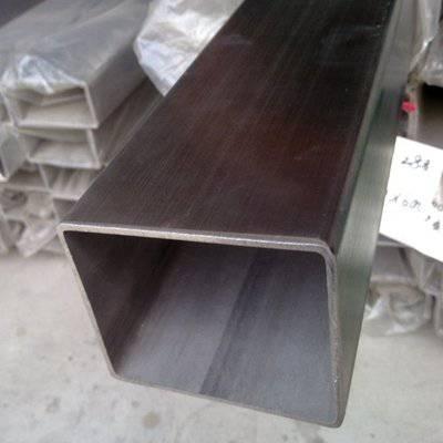 衡阳150*150*6.0不锈钢矩形管 昆明工程装修专用方管 佛山201拉丝方通