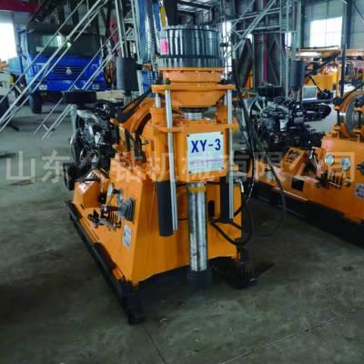 大型液压水井钻机深水井钻井机XY-3操作简单效率高