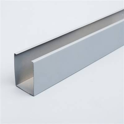 铝方通 50*100mmU型铝方通吊顶天花 铝合金木纹方通吊顶
