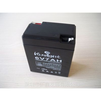 矿鑫厂家直销 6V7AH免维护铅酸蓄电池安防监控系统储能蓄电池