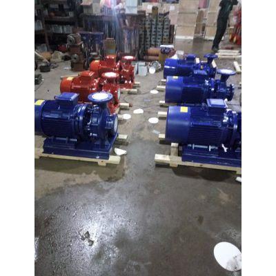 卧式管道离心泵 FWG32-125A 4.5M3/H 扬程:16M 0.75KW 众度泵业