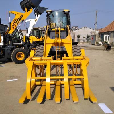 轮式小型装载机 小型轮式液压小铲车 四驱助力式装载机
